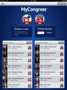 mycongress for ipad