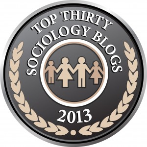 Top 30 Sociology Blogs 2013 Badge
